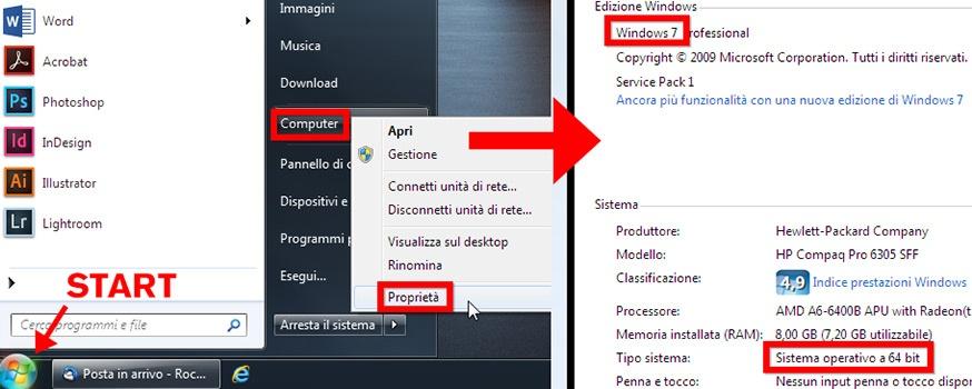 Come verificare la versione di Windows