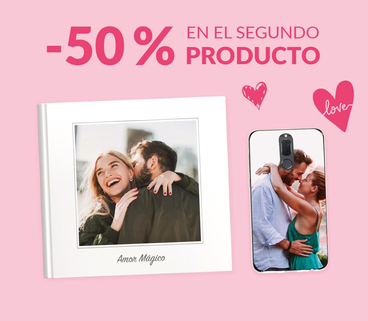 -50% en el segundo producto