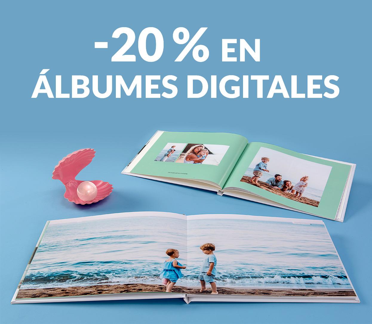 -20% en Álbumes Digitales