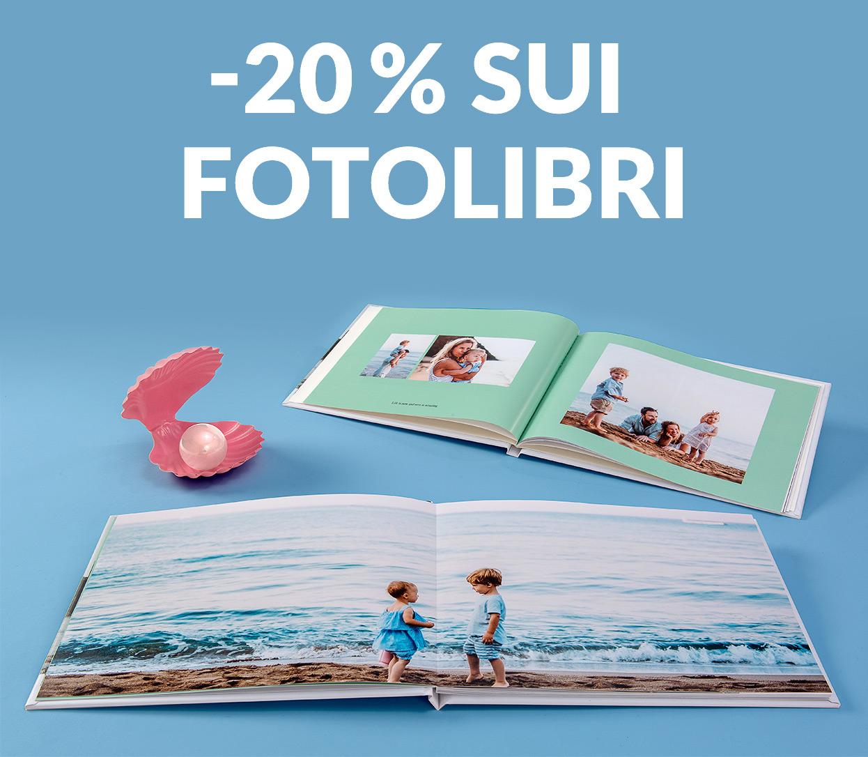 -20% sui FotoLibri