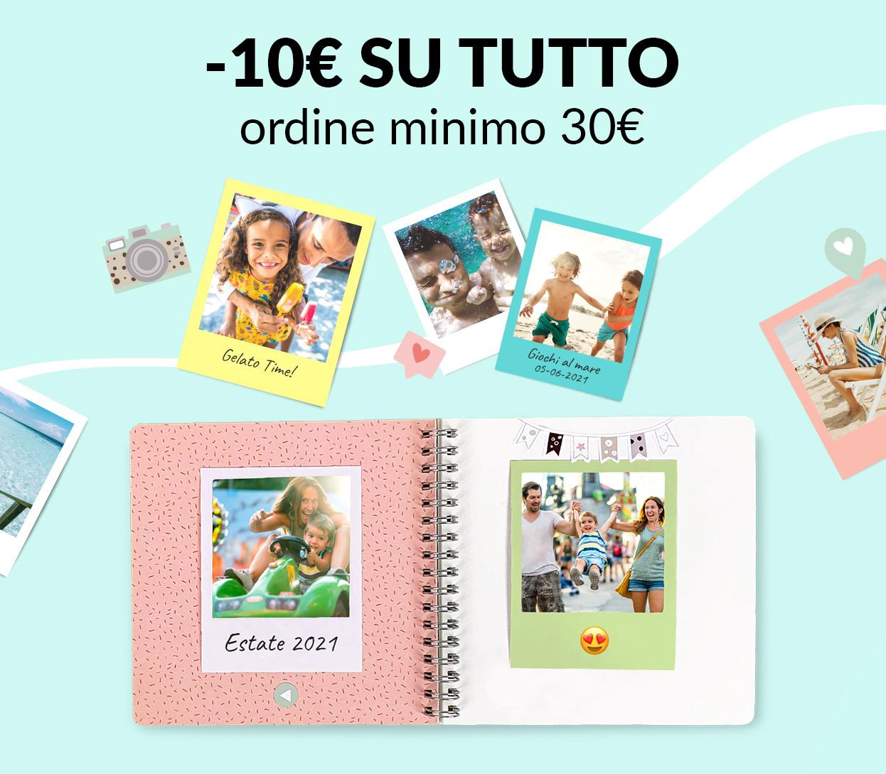 -10€ su tutto (ordine minimo 30€)