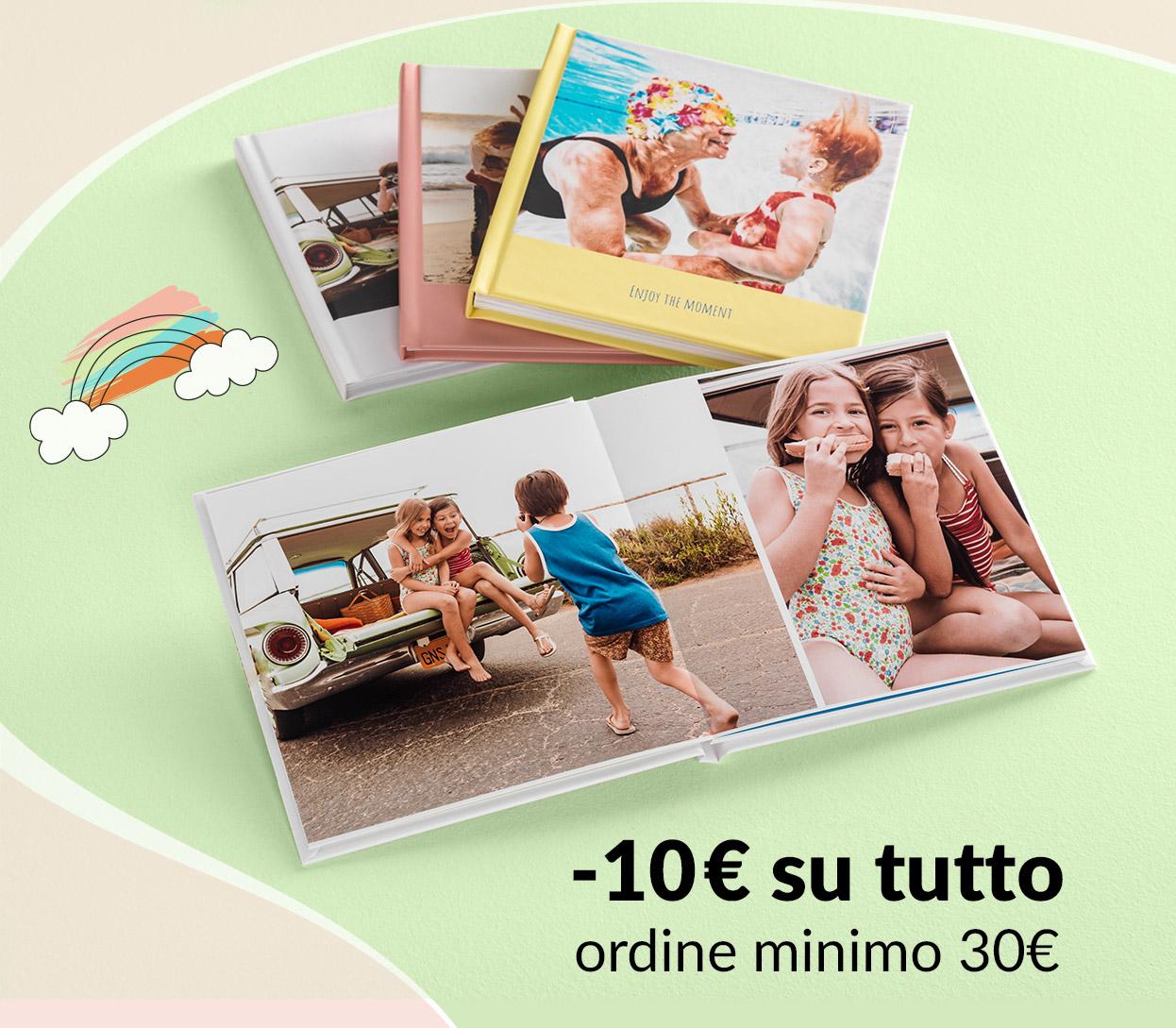 10€ su tutto (ordine minimo 30€)
