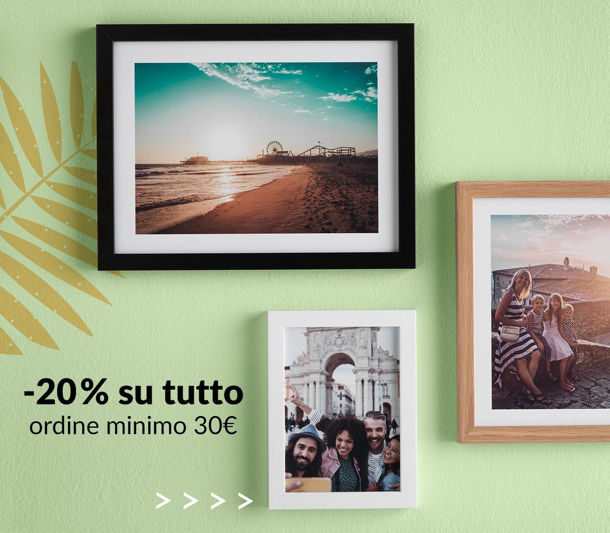 -20% su tutto (ordine minimo 30€)