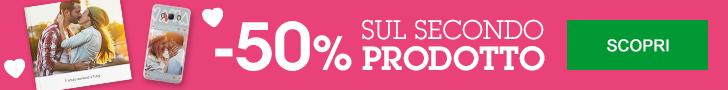 -50% sul secondo prodotto