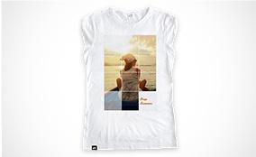 T-shirt Cotton Slub Donna