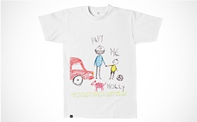 T-shirt cotton slub uomo