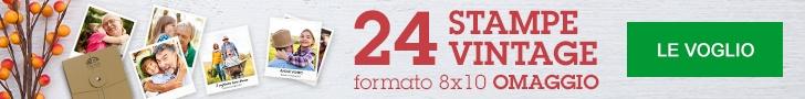24 Stampe Vintage formato 8x10 Omaggio