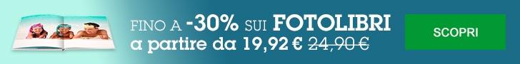 FotoLibri fino a -30% solo fino a martedì 19. AFFRETTATI
