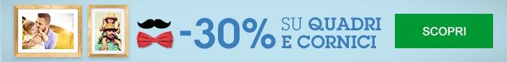 30% di Sconto su Quadri e Cornici