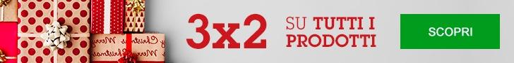 3x2 su tutti i Prodotti