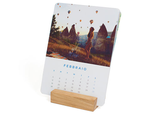 Calendario da Tavolo Cards Personalizzata