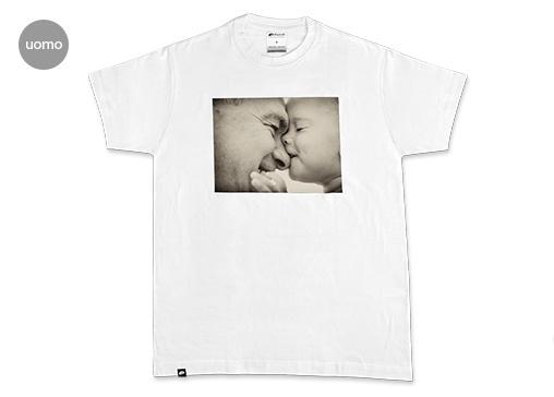FotoT-shirt 100 cotone