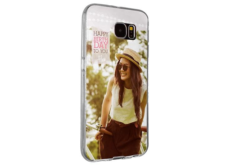Cover Morbida Samsung S6 Edge Personalizzata