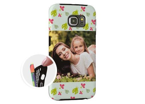 Cover Samsung Galaxy S6 Edge Rinforzata