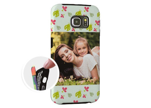 Cover Samsung Galaxy S6 Edge Rinforzata