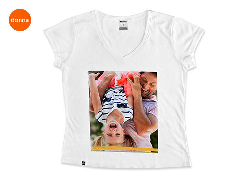 Foto-T-shirt V Full Foto