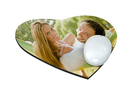 Stampa Foto Mouse Pad Cuore