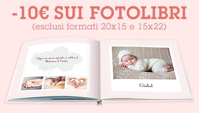 -10€ sui FotoLibri