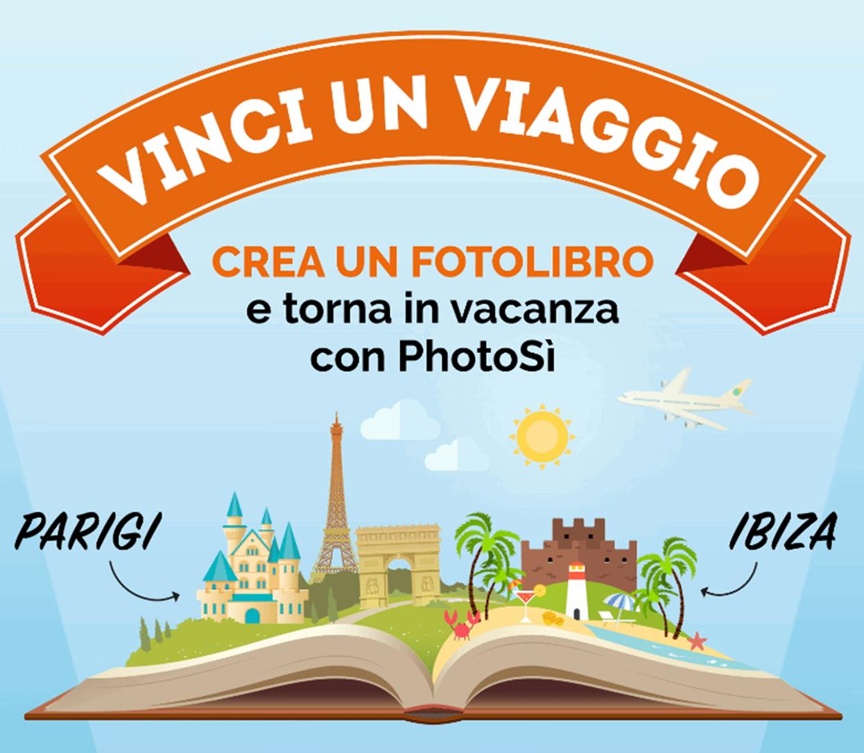 SCADUTO - Crea un FotoLibro e torna in vacanza con PhotoSì - SCADUTO