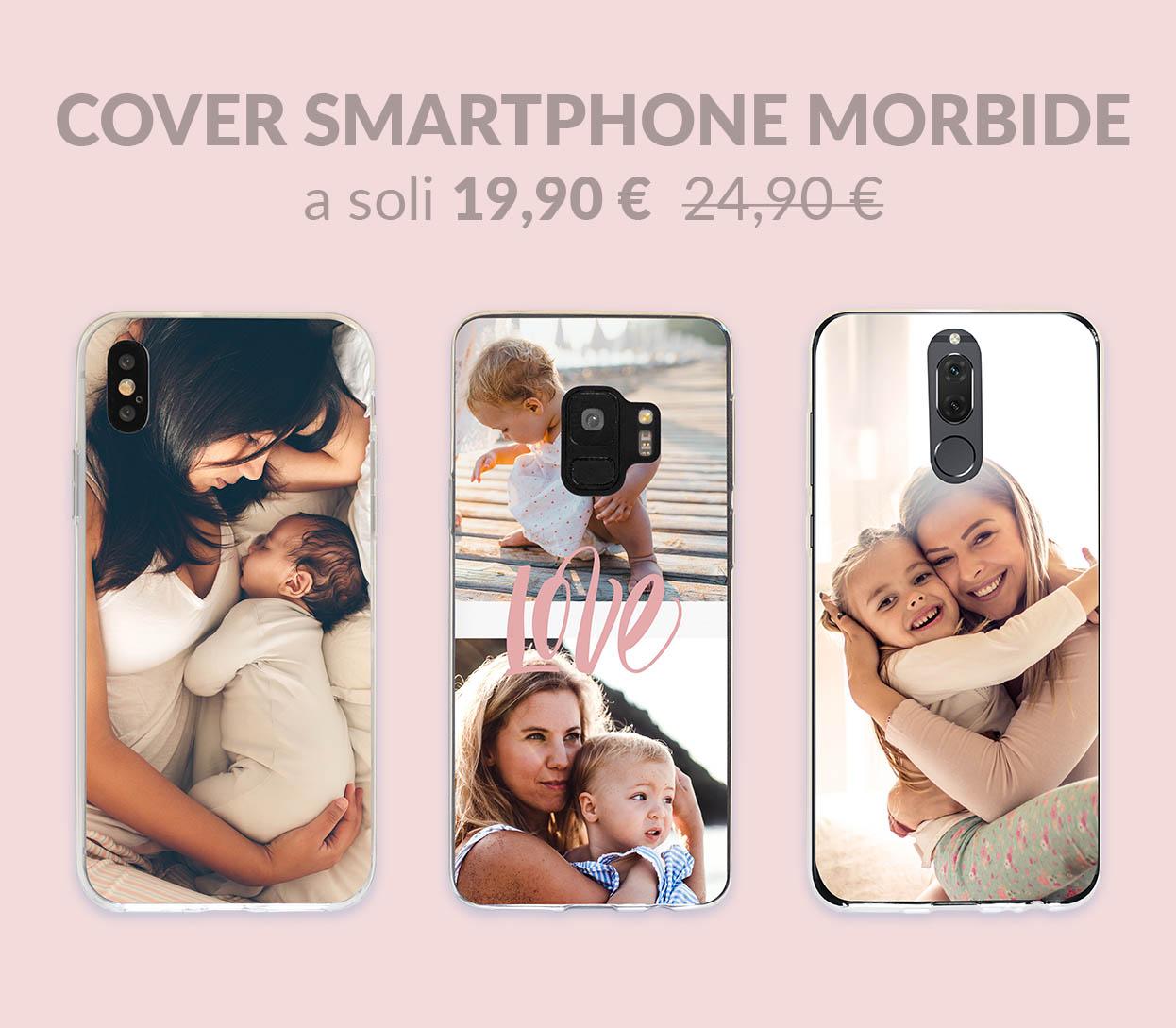 Cover Smartphone Morbide a soli 19,90€ anziché 24,90€