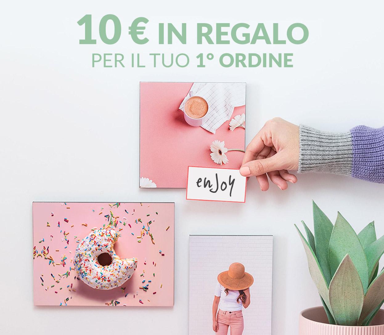 Iscriviti! 10€ di sconto sul tuo 1° Ordine