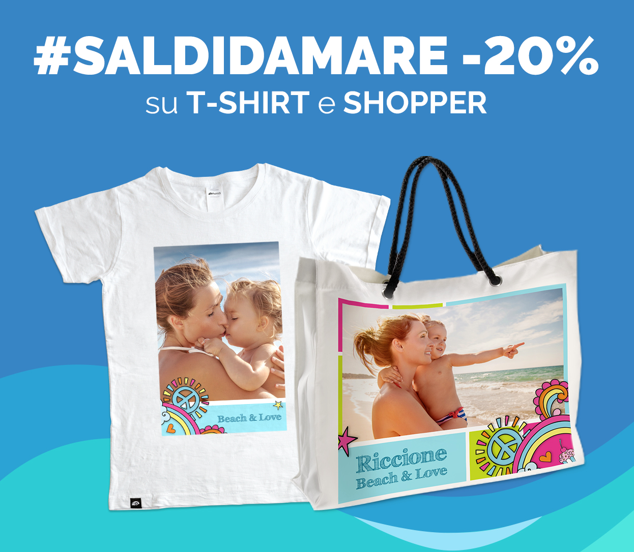 -20% su T-Shirt e Shopper
