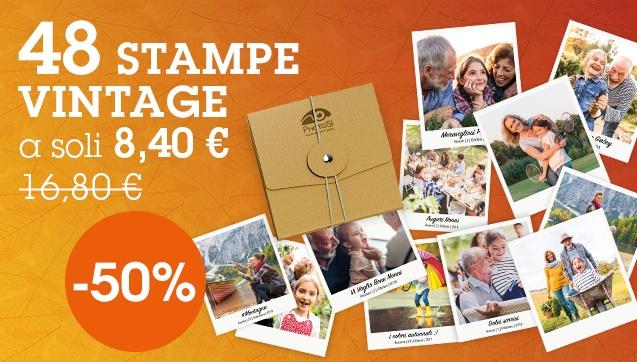 48 Stampe Vintage a soli 8,40€ anziché 16,80 €