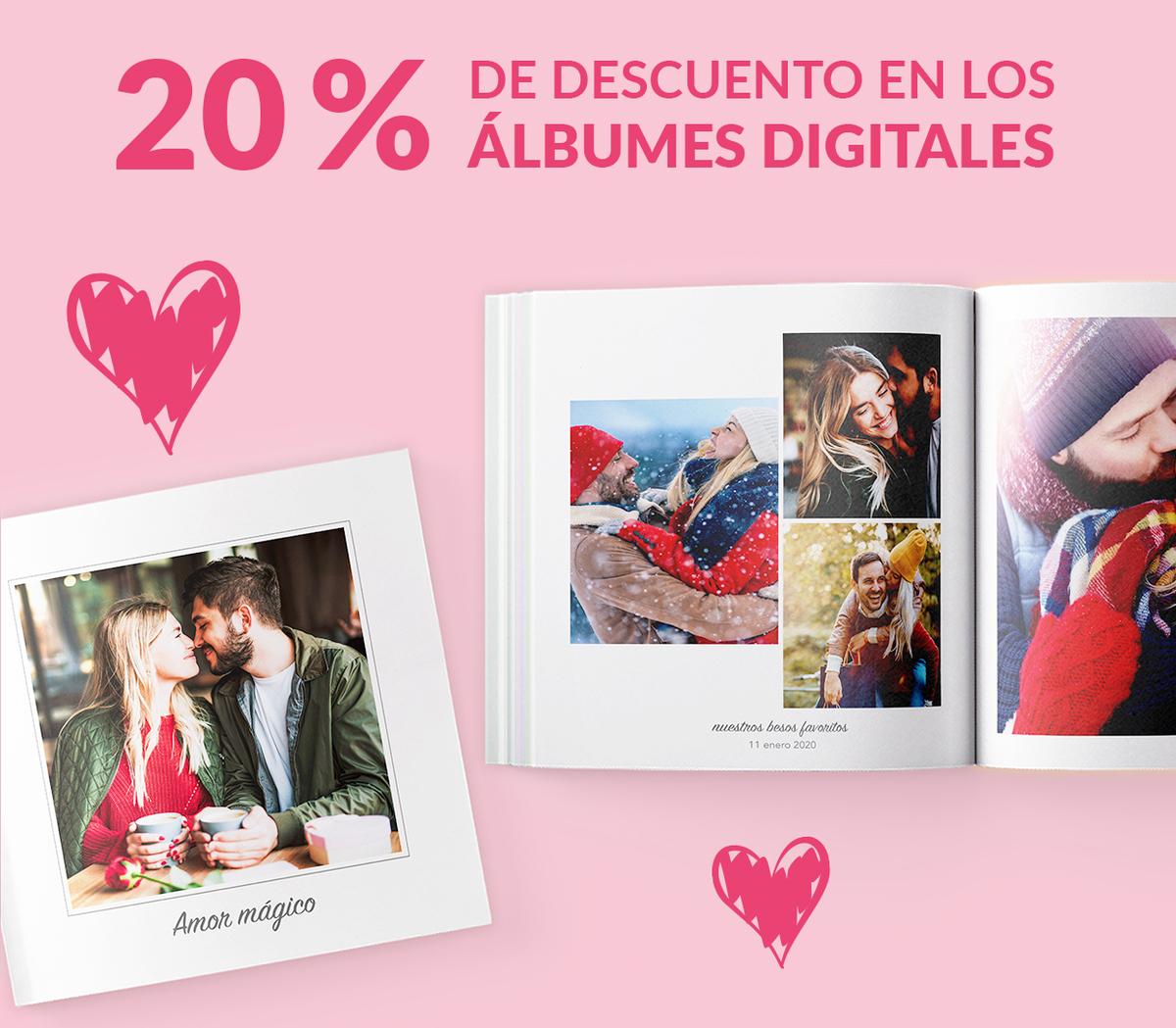 -20% en los álbumes digitales
