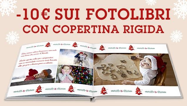 -10€ sui FotoLibri con copertina rigida da 24,90€ anziché 34,90€