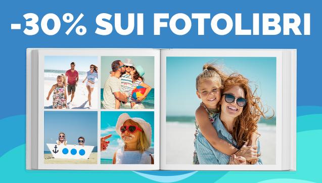-30% sui FotoLibri