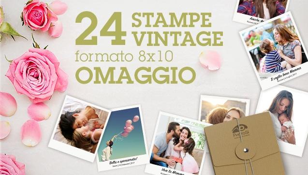 24 Stampe Vintage in Omaggio su ordine minimo di 48